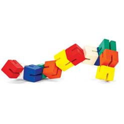 Drewniane modułowe bloczki