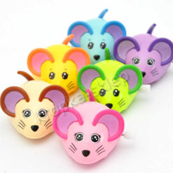 Kolorowa myszka nakręcana