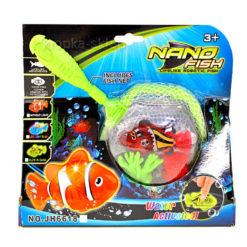Nano rybka z podbierakiem