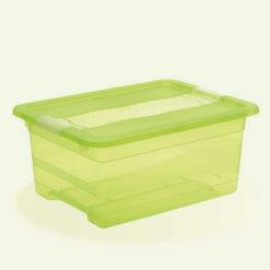 Pojemnik Crystal-box 12l z pokrywą