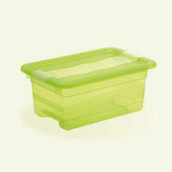Pojemnik Crystal-Box 4L z pokrywą