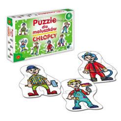 Puzzle dla maluszkow chłopcy