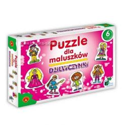Puzzle dla maluszkow - dziewczynki