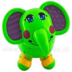 Słoń plastikowy