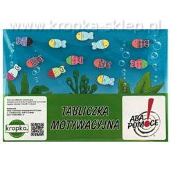 Tabliczka motywacyjna Kolorowe akwarium