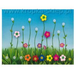 Kwiecista łąka tablica motywacyjna
