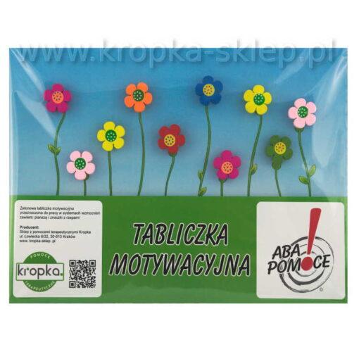 Tabliczka motywacyjna kwiecista laka-4