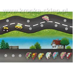 Tabliczka motywacyjna Zakręcona autostrada
