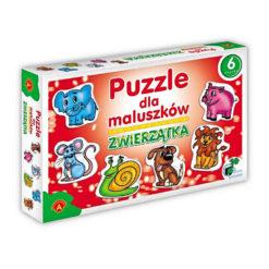 Puzzle dla maluszków - zwierzątka