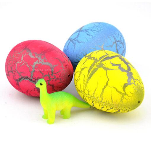 Duże jajko z dinozaurem