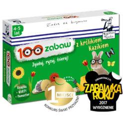 100 zabaw z królikiem Kazikiem Kapitan Nauka