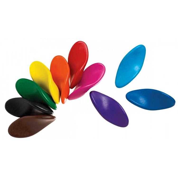 Kredki świderki 10 kolorów