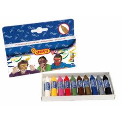 Kredki do malowania twarzy JOVI 10 kolorów