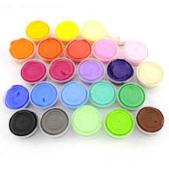 Masa odbijająca slime kolory