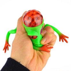 Piłka żaba z kuleczkami