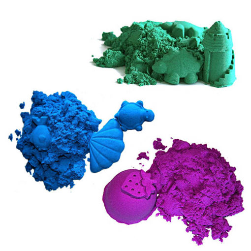Piasek kinetyczny bajeczne kolory