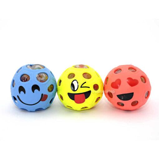 Piłka z kuleczkami gniotek