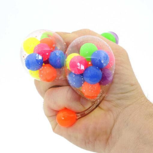 Żelowe kulki piłka antystresowa