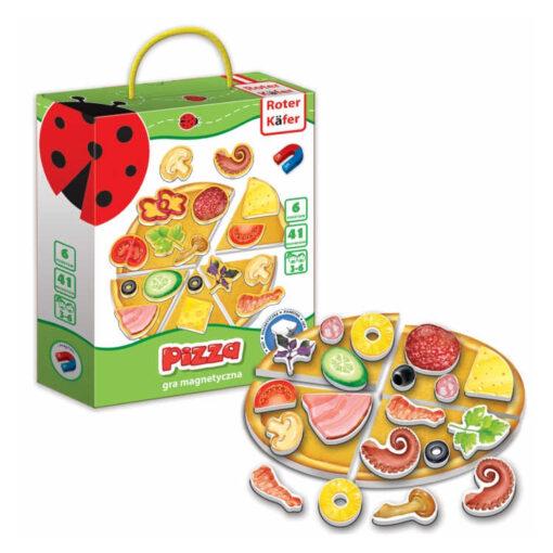 Pizza gra magnetyczna