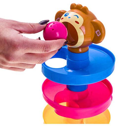 Wieża z kulkami małpka