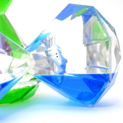 Klepsydra żelowa duża diament