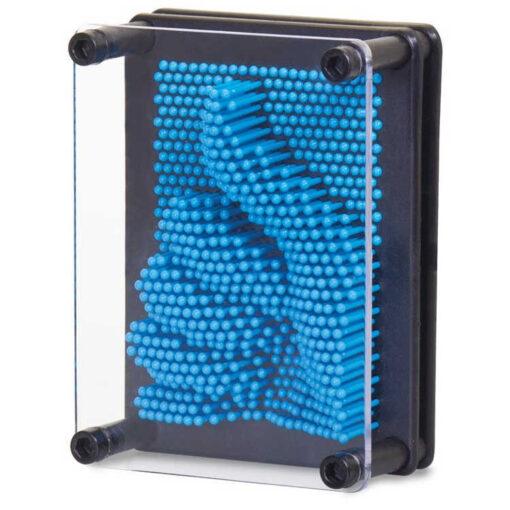 Tablica szpilkowa Pin Art niebieska