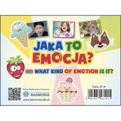 Jaka to emocja? Karty Harmonia