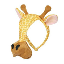 Maska w kształcie żyrafy Grimini
