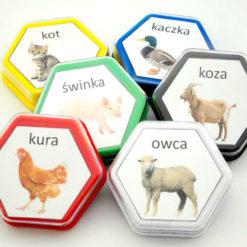 Gadające zwierzątka etykiety