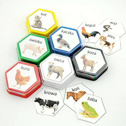 Gadające zwierzęta etykiety