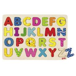 Puzzle alfabet GOKI
