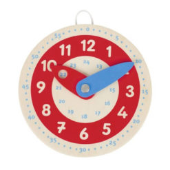 Zegar do nauki godzin mały GOKI