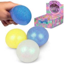 błyszcząca piłka squishy
