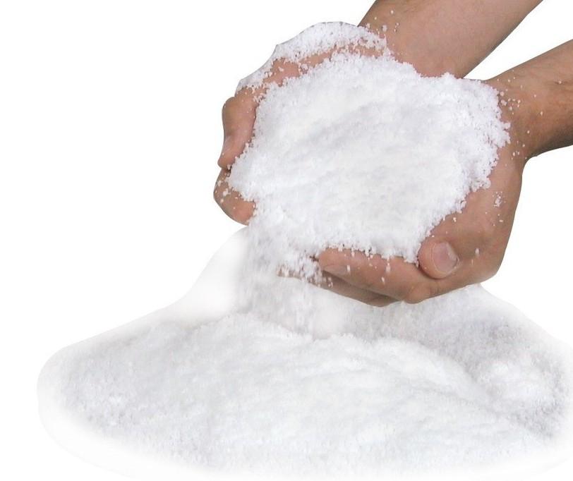 magiczny śnieg - sztuczny śnieg