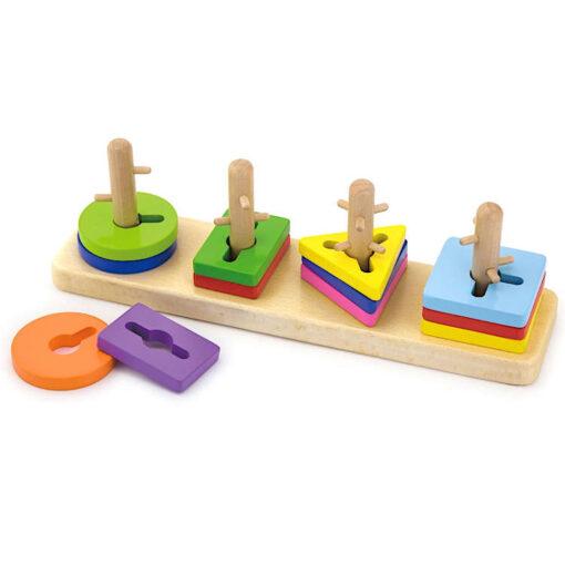 Obrotowe wieże edukacyjne sorter