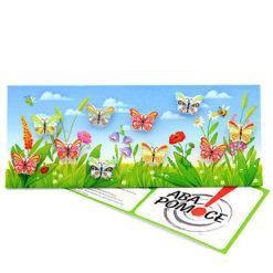 Tabliczka motywacyjna Motylkowa Łąka