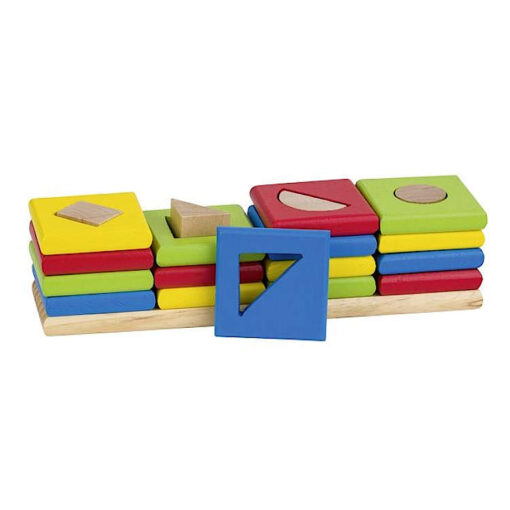 Drewniany sorter cztery kształty GOKI