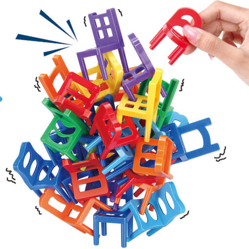 Klocki krzesełka 40 elementów