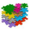 Mata podłogowa sensoryczna 7+4 elementy